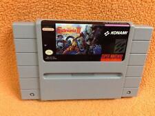 Castlevania IV 4 *Authentic* Super Nintendo SNES Super Fast Free Ship RARE!