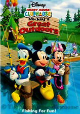 Mickey Mouse Clubhouse Mickey's Great Outdoors Kids Tent Campout Camping DVD