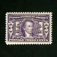 US Stamps # 325 F-VF Fresh OG NH Scott Value $170.00