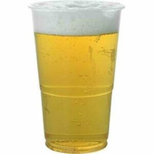 Plastic flexi beer glasses 1 pint x 800 (20oz) disposable, takeout