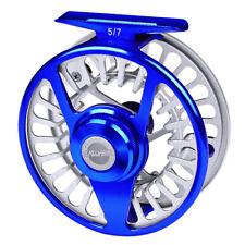 Fly Fishing Reels Cnc Aluminum Fly Reel 5/7-7/9-9/10 Wt Large Arbor Fly Wheel