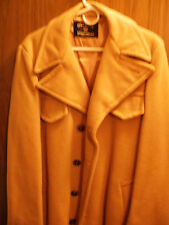Size 40 Used Man's Camel Like Tan Handsome Olympic Sportswear Overcoat USA Made