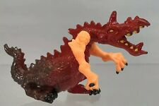 "Medieval Red Dragon 4"" Figurine Figure Yellow Arms Green Stomach 1995 Chap Mei"