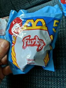Rare Two Furby Lot 1998 McDonald's  McFurby - #4 and #5 sealed with 1 meal bag