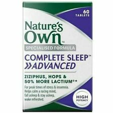 Nature's Own Complete Sleep Advanced Tablets - 60 Count