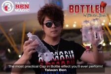 BOTTLED WHITE NO LOGO ONLINE VIDEO & PROPS BY TAIWAN BEN BOTTLE CAPS MAGIC TRICK