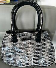 Armani Snake Print Handbag