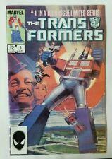 Transformers #1 ; Marvel Comics ; Optimus Prime ;
