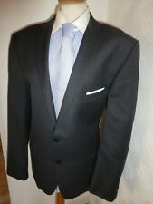 MENS TED BAKER LONDON GREY FALDON SUMMER WOOL SUIT JACKET 38 R WAIST 32 LEG 31