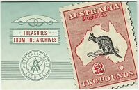 2004 STAMP PACK 'TREASURES FROM THE ARCHIVES' - WITH $5.00 MNH STAMP/SHEET