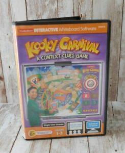 Lakeshore iLakeshore Interactive Whiteboard Software Kooky Carnival Context Game