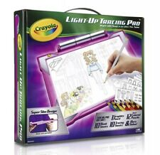 Crayola Light-up Tracing Pad Pink, Coloring Board for Kids, Gift, Toys for Girls