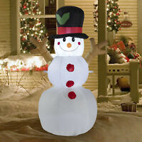 Christmas Inflatable Snowman Airblown Decorations Outdoor Yard Holiday Light 4FT