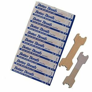 120 NASAL STRIPS (LARGE/TAN) Better Breath / Reduce Snoring Right Now