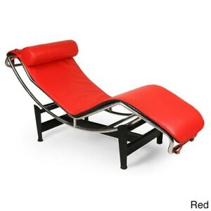 Kardiel Gravity Chaise Lounge with Top-Grain Leather Upholstery