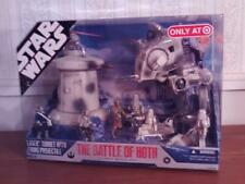 2007 STAR WARS V ULTIMATE BATTLE of HOTH TOY FIGURE PLAY SET PACK 30TH Target Ex