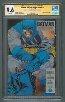BATMAN: The Dark Knight Returns #2 CGC 9.6 SS Double Signed MILLER & JANSON