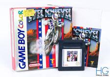 Evel Knievel Boxed - Nintendo Game Boy Color Retro Cartridge PAL