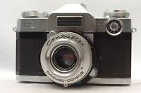 @ Ship In 24 Hrs @ Discount! @ Zeiss Ikon Contaflex Film Camera Tessar 50mm f2.8