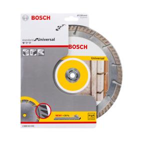 "Bosch Diamond Disc 230mm ,  9"" Angle Grinder Concrete / Brick Cutting Blade"