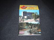 1970's Souvenir Postcard Folder Hanger Hamilton Ontario Canada Set #1