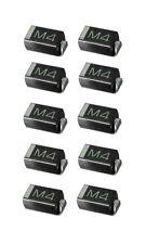 1n4004 SMD diodo gleichrichterdiode 1a 400v 10 piezas (0000)