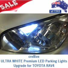 ULTRA WHITE Premium LED Parker Parking Lights Globes Upgrade for TOYOTA RAV4