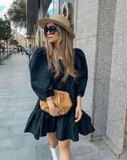 H&M Black Puff-Sleeved Dress Bloggers Sold Out