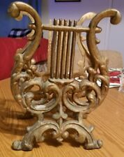 Vintage Bronze Table Top Sheet Music Stand