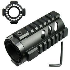 "4"" Free Float Hand guard Quad Rail Pistol Length Handguard for RPR - Black"