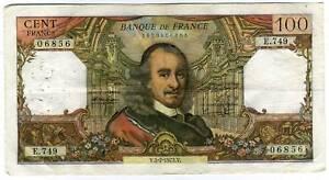 100 francs CORNEILLE   E 749