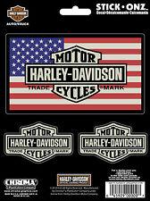 "original Harley-Davidson Adhesivo"" Vintage USA ""Pegatina cg-9968"