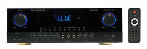 Rockville SingMix 5 2000w Home Theater Receiver w/ Bluetooth/Echo/Mic inputs