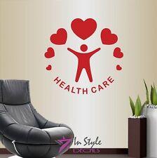Vinyl Decal Health Care Medical Symbol Doctors Office Hospital Clinic Decor 861
