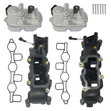 For Audi A4 A6 A8 Q7 TOUAREG 2.7 3.0TDI Intake Manifold+Flap Actuators Kit 4 pin