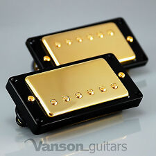NEW Vanson '57 Alnico II Gold PAF style Humbucker Set for Gibson ®, Epiphone ®*