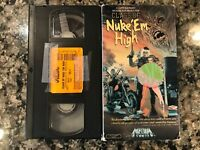 Class Of Nuke Em High Vhs! 1986 Horror! (see) Night Of The Creeps