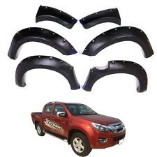 12+ Isuzu D-MAX Colorado DMAX Ute Fender Flare 6 Inch Wheel Arch 4 Doors Pickup