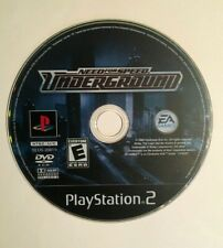 Need for Speed: Underground (Sony PlayStation 2, 2003) Cars Race Chrome City