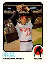 1973 TOPPS #220 NOLAN RYAN ANGELS HOF 6 EX-MT