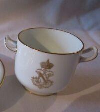 Porcelaine de Sèvres, pot à sucre du déjeuner enfant au chiffre de Napoléon III