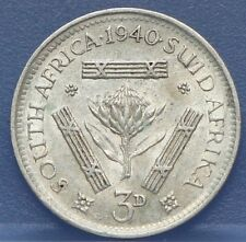 Zuid Afrika - South Africa 3 Pence 1940 Silver - KM# 26