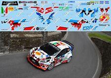 FORD FIESTA WRC ALBERTINI-FAPPANI RALLY 1000 MIGLIA 2017  DECALS 1/43