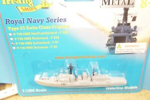 HMS SUTHERLAND  F81 Triang Minic Ships Type 23 Frigate Carded mint.