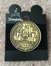 Disney Disneyland 45th Anniversary Bronze Castle Coin Medallion Pin NEW ON CARD