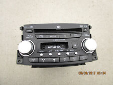 04-06 ACURA TL 6 DISC CD DVD PLAYER CHANGER CASSETTE RADIO NAVIGATION GPS UNIT