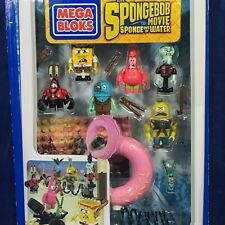 New POST APOCALYPTIC Figure Pack SPONGEBOB SQUAREPANTS Mega Bloks CND26 - 7 FIGS
