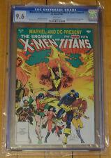 CGC 9.6 Marvel/DC X-Men & Teen Titans #1 *HighGrade*WP*