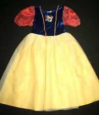 Disney Store Snow White Costume Dress Girl Size M 8-10 Ln