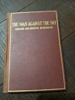 1916 The Man Against The Sky by Edwin Arlington Robinson - First Edition